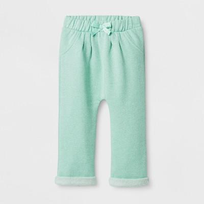 Baby Girls' Sparkle Jogger - Cat & Jack™ Green NB