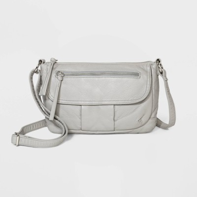 Bueno Mini Zip Closure Crossbody Bag