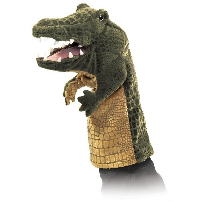 Folkmanis Crocodile Stage Puppet
