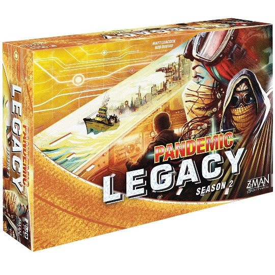 Zman Games Pandemic: Legacy Season 2 (Yellow Edition) Board Game image number null