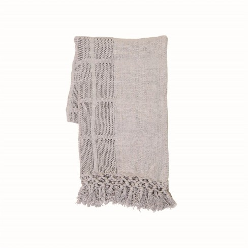 Hand Woven Bailey Throw - Foreside Home and Garden - image 1 of 4