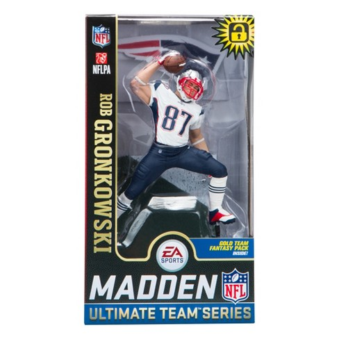 New England Patriots McFarlane Toys Madden NFL  Ultimate Team Series Rob  Gronkowski Figure   Target 40a76979e