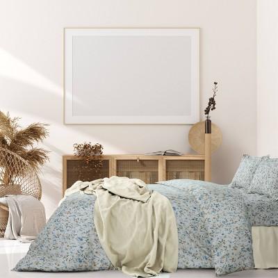 Carolina Organic Duvet Set - Azores Home