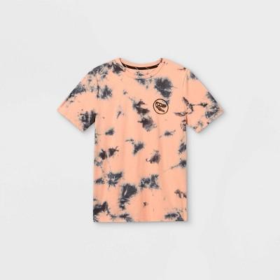 Boys' Tie-Dye Short Sleeve T-Shirt - art class™ Light Pink