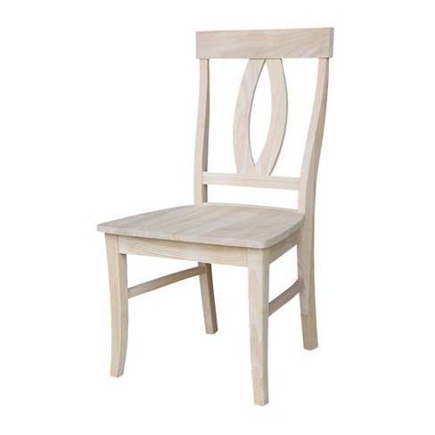 Set of 2 Verona Chair Unfinished - International Concepts - image 1 of 4