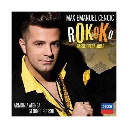 Hasse - Rokoko: Hasse Opera Arias (CD) - image 1 of 1