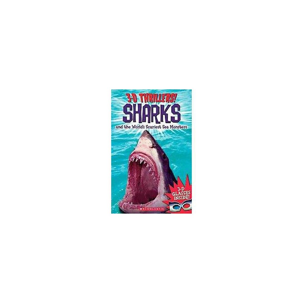 Sharks and the World's Scariest Sea Mons ( 3-D Thrillers) (Paperback) by Chris Coode