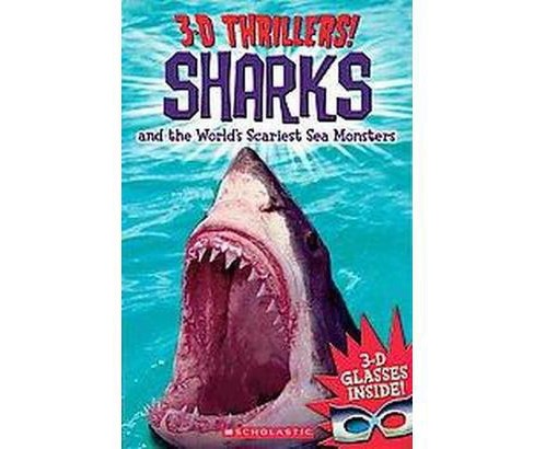 Sharks and the World's Scariest Sea Mons ( 3-D Thrillers) (Paperback) by Chris Coode - image 1 of 1