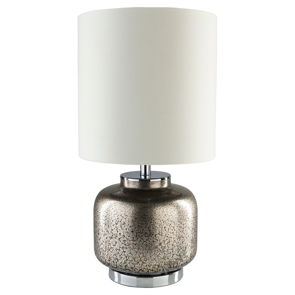 Ballas Table Lamp Silver (Lamp Only) - Surya