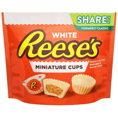 Reese's White Miniatures Crème Candy - 10.5oz