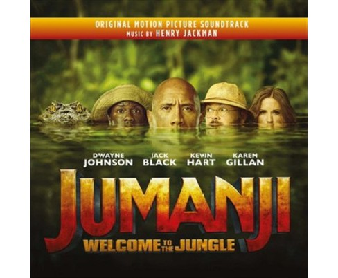 Henry Jackman - Jumanji:Welcome To The Jungle (Ost) (Vinyl) - image 1 of 1