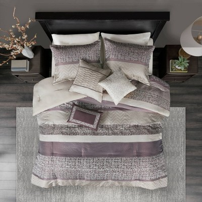 7pc Harmony Jacquard Comforter Set
