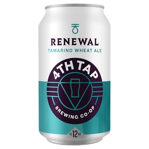 4th Tap Renewal Tamarind Wheat Ale - 6pk /12 fl oz Cans - image 1 of 1