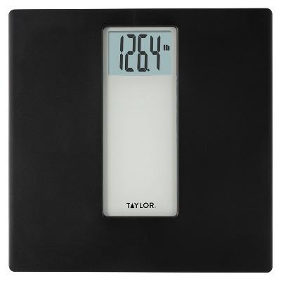 Digital Bathroom Scale Black/Gray - Taylor