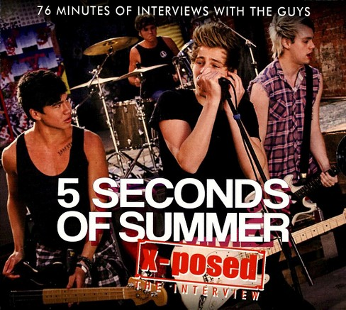 5 seconds of summer - 5 seconds of summer:X posed (CD) - image 1 of 2
