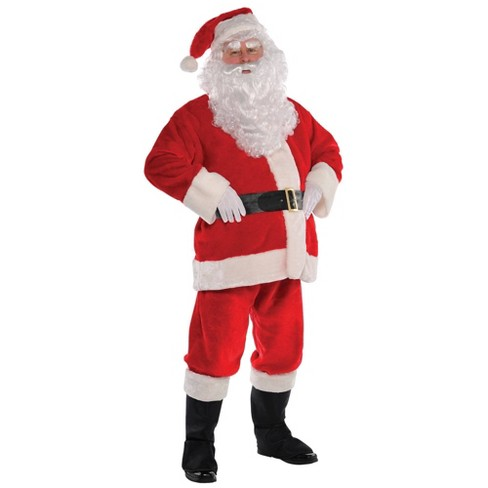 Plush Santa Suit Adult Costume - Amscan  - image 1 of 1