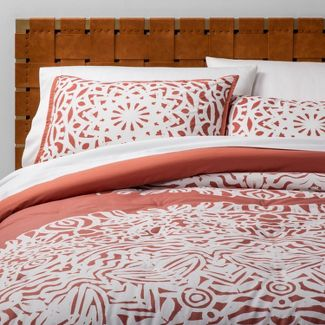 Twin/Twin XL Printed Comforter Set Rose Medallion - Opalhouse™