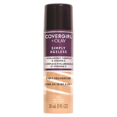 COVERGIRL + Olay Simply Ageless 3-in-1 Foundation - Tan Shades - image 1 of 3