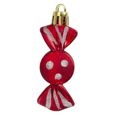 """Northlight 8ct Red and White Round Peppermint Shatterproof Christmas Ornaments 2.25"""""""