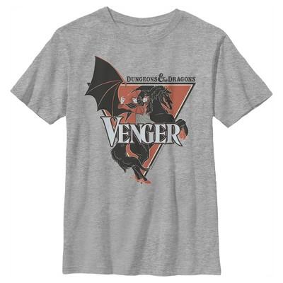 Boy's Dungeons & Dragons Venger Villain Cartoon T-Shirt