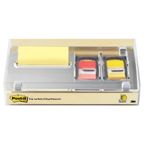 Post-it® Dispenser for Notes & Flags - Silver - image 1 of 2