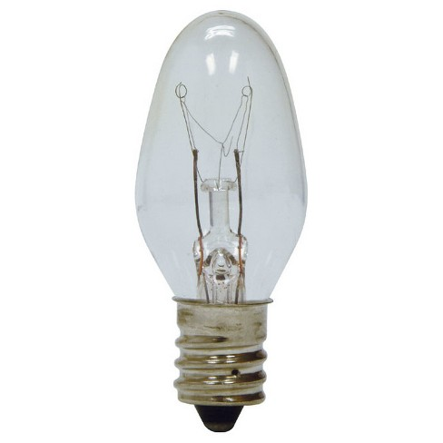 General Electric 4w 4pk Nightlight Incandescent Light Bulb Clear - image 1 of 2