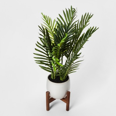 Faux Tropical Plant in White Pot - Threshold™