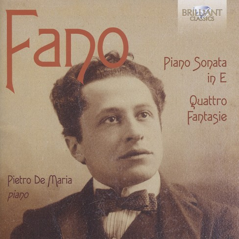 Pietro de maria - Fano:Piano son in e minor/Quattro fan (CD) - image 1 of 1