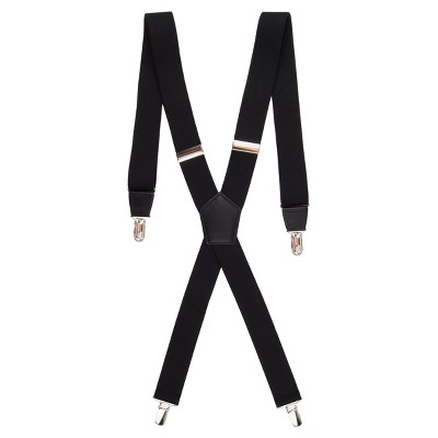 Men's Stretch Suspenders - Goodfellow & Co™ Black One Size