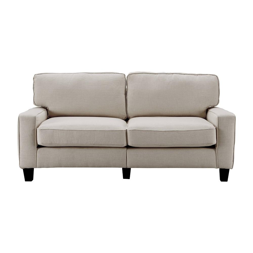 "Image of ""73"""" Palisades Sofa Light Gray - Serta"""