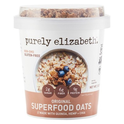 Granola & Muesli: Purely Elizabeth Superfood Oats