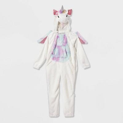 Kids' Adaptive Plush Unicorn Halloween Costume Jumpsuit - Hyde & EEK! Boutique™