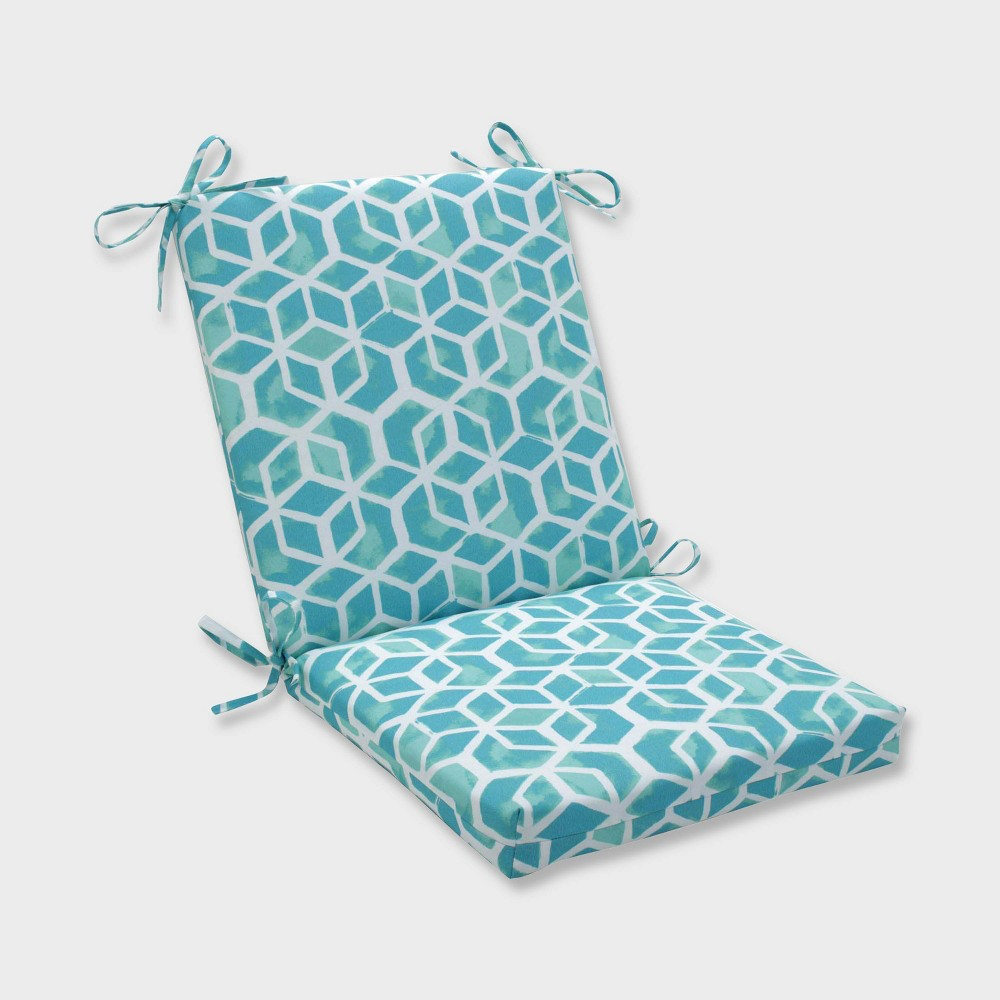 Fine Celtic Surfside Squared Corners Outdoor Chair Cushion Blue Squirreltailoven Fun Painted Chair Ideas Images Squirreltailovenorg