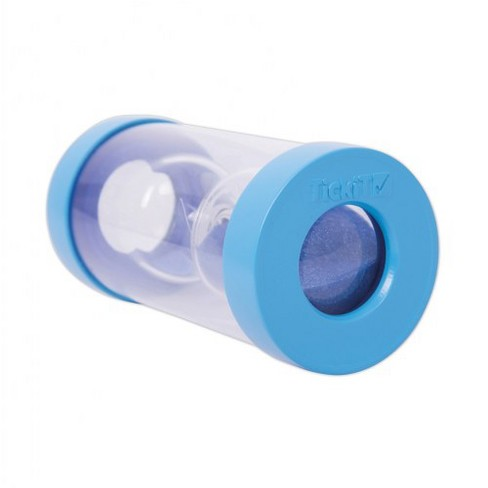 TickiT 5 Minute ClearView Magnifying Sand Timer - Blue - image 1 of 4