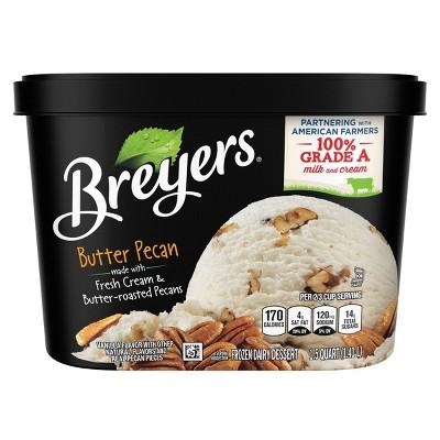 Butter Pecan Ice Cream Dessert - 48oz - Breyers