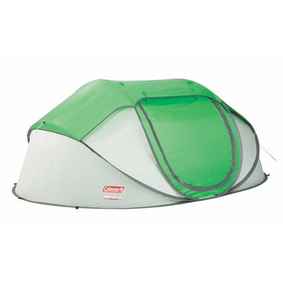 Coleman 4-Person Pop-Up Tent - Green