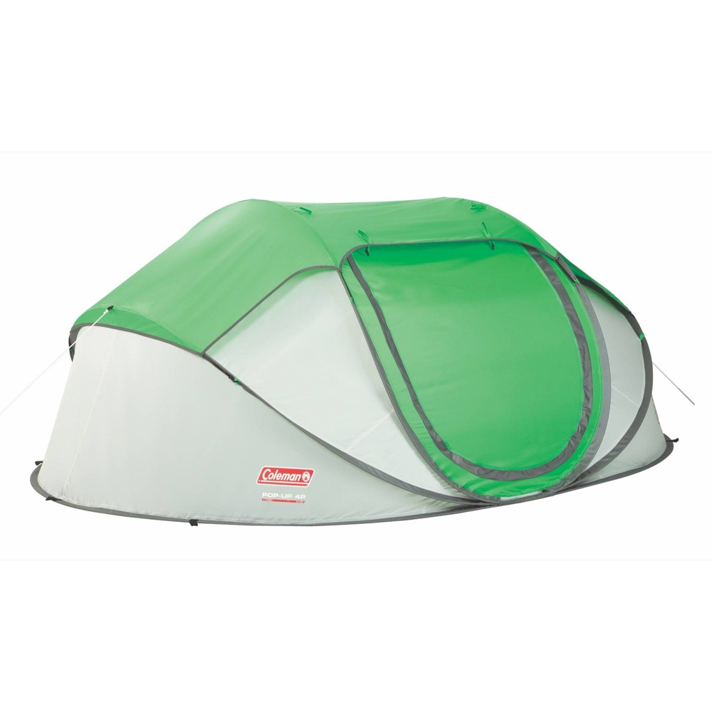 Coleman 4 Person Pop Up Tent Green