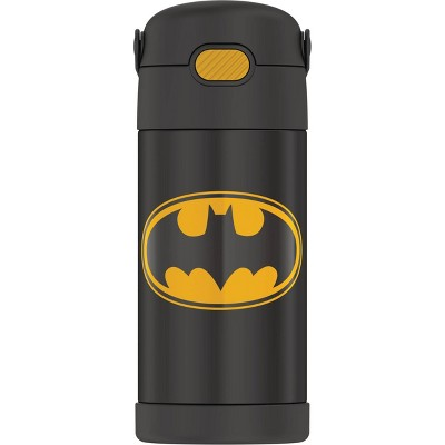 Thermos Batman 12oz FUNtainer Water Bottle with Bail Handle - Black