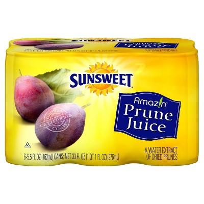 Sunsweet Prune Juice - 6pk/5.5 fl oz Cans