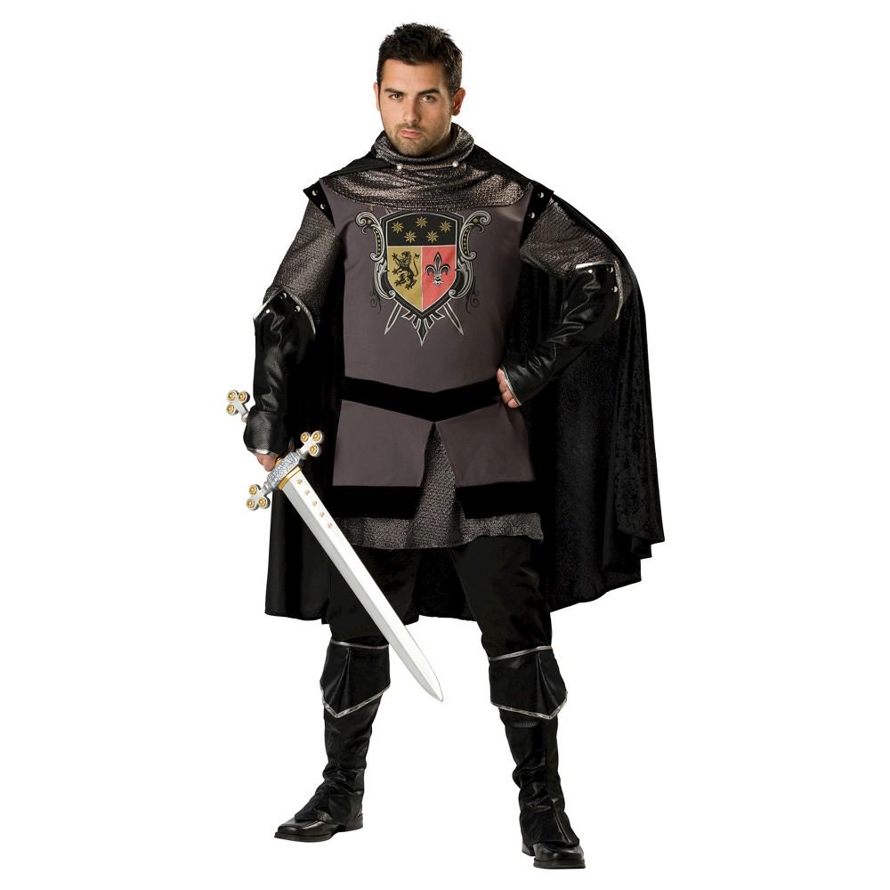 Men's Dark Knight Costume XX-Large, Size: Xxl, Black