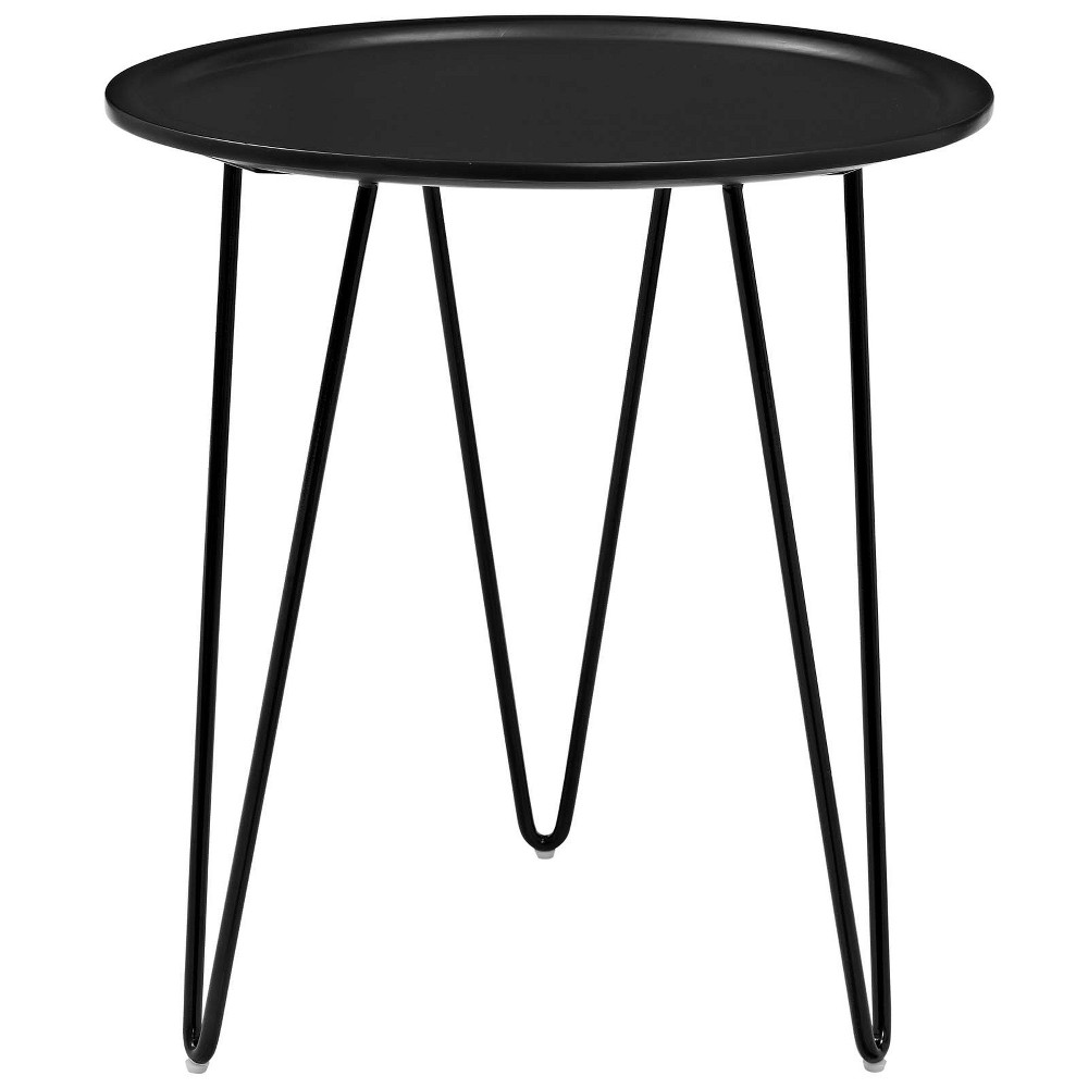 Digress Side Table Black Modway