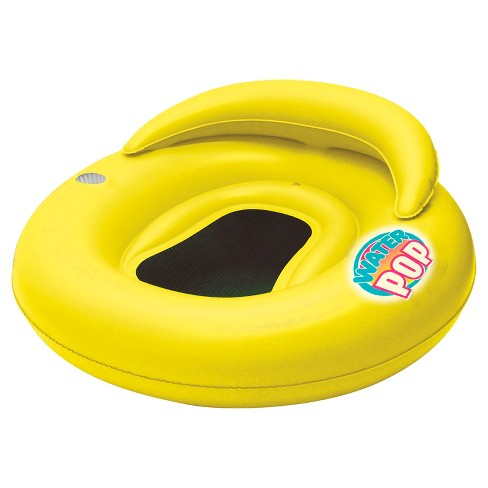Poolmaster Yellow Water Pop Mesh Bottom Lounge - image 1 of 4