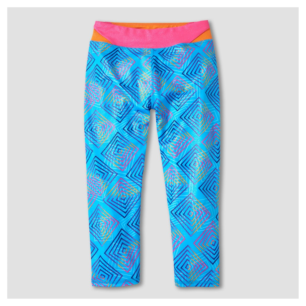 Girls' Freestyle by Danskin Activewear Leggings - Turquoise XS, Blue