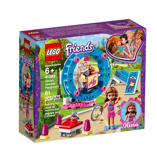 LEGO Friends Olivia's Hamster Playground 41383 image number null