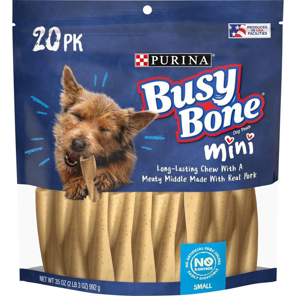 Purina Busy Bone Tiny Dog Treats 20ct