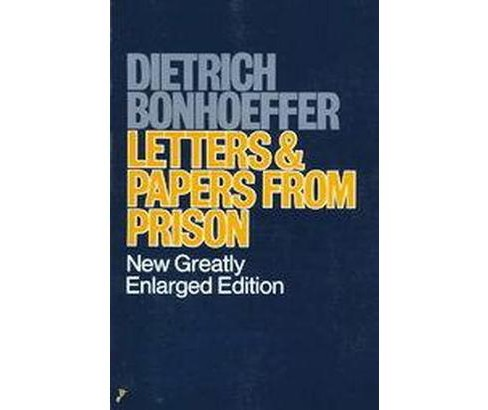 Letters and Papers from Prison (Updated) (Paperback) (Dietrich Bonhoeffer & Eberhard Bethge) - image 1 of 1