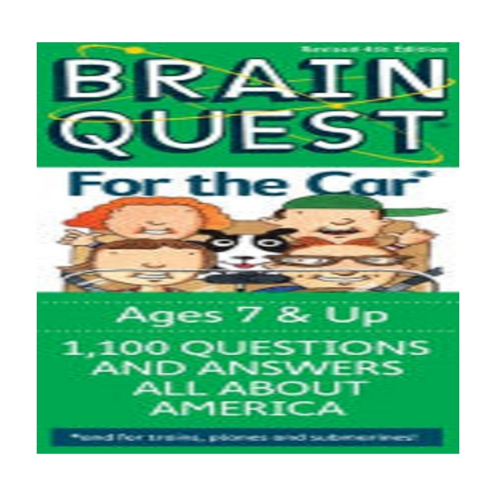 Brain Quest For the Car by Brain Quest Editors