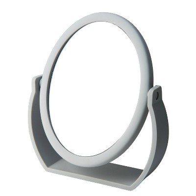 """8"""" Vanity Rubberized 1X-10X Magnification Mirror - Home Details"""