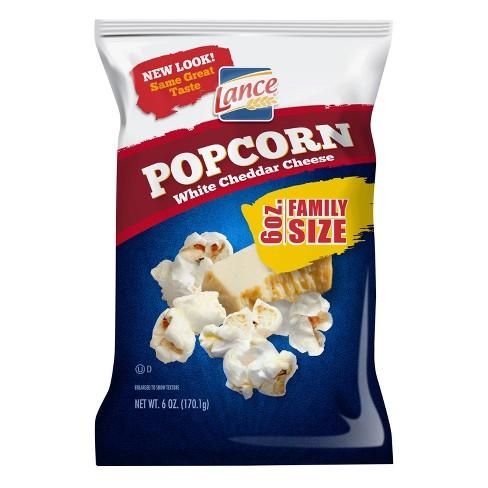 lance white cheddar cheese popcorn 6oz target