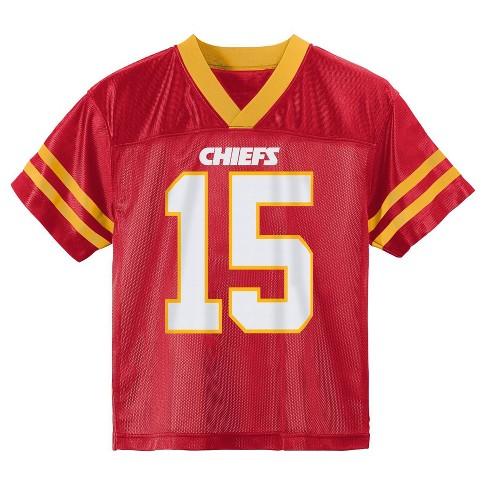 uk availability 580d7 0575d NFL Kansas City Chiefs Boys' Mahomes Patrick Jersey - M